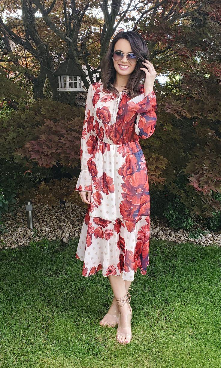 Sommerkleid lang Rinascimento   Etsy   Long sleeve dress, Fashion ...