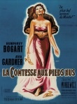 Henri Cerutti poster for The Barefoot Contessa