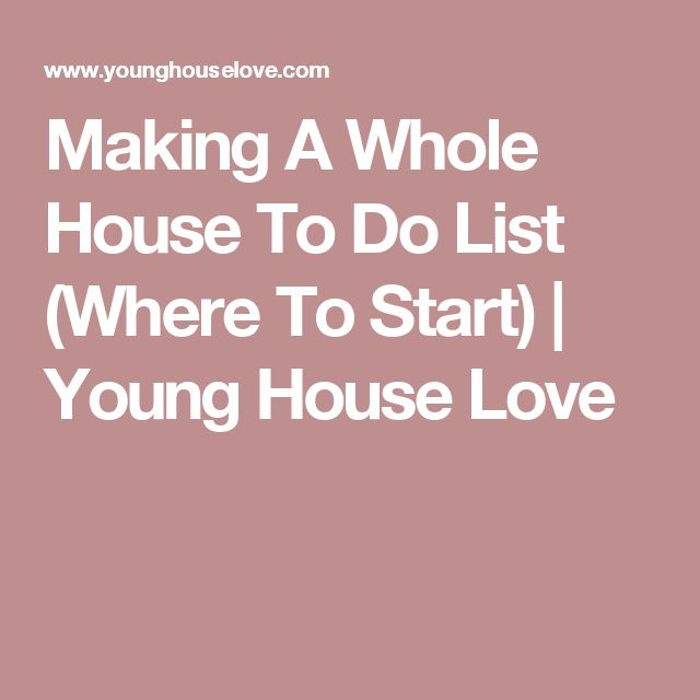 1000+ Ideas About New House Checklist On Pinterest | College