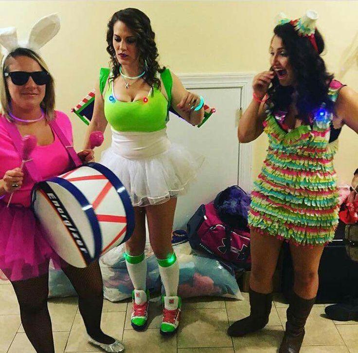 Energizer Bunny, Buzz Lightyear and a Piñata
