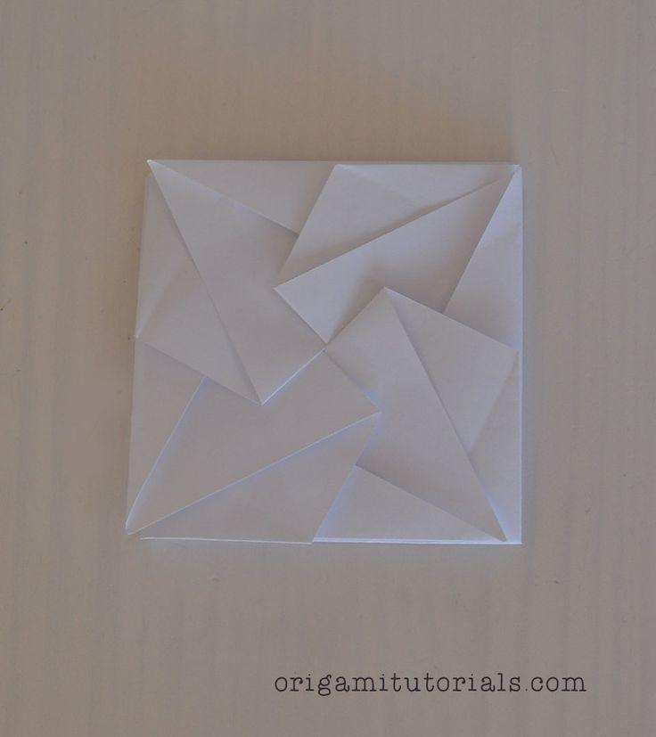 Origami-Tato-Tutorial http://origamitutorials.com/origami-tato-tutorial/