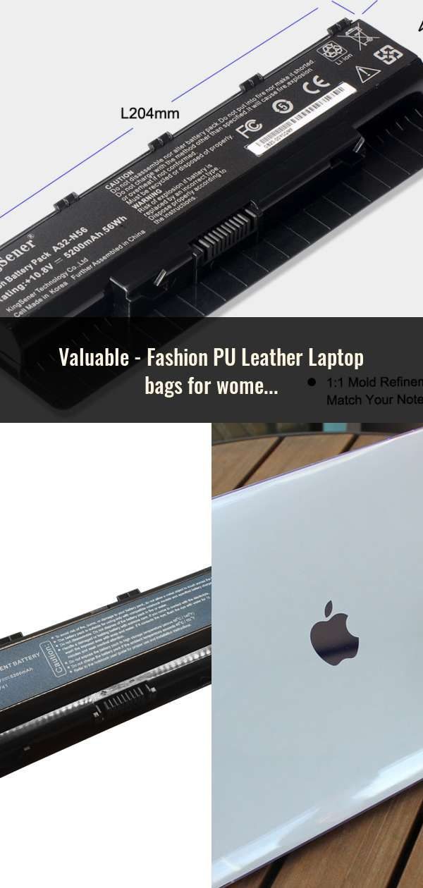 0505ce05e06b Fashion PU Leather Laptop bags for women 14 15 15.6 17.3 inch for macbook  air 13 inch casual portable waterproof Notebook bag