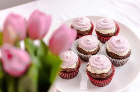 Cupcakes napoletane/  Neapolitan Cupcakes