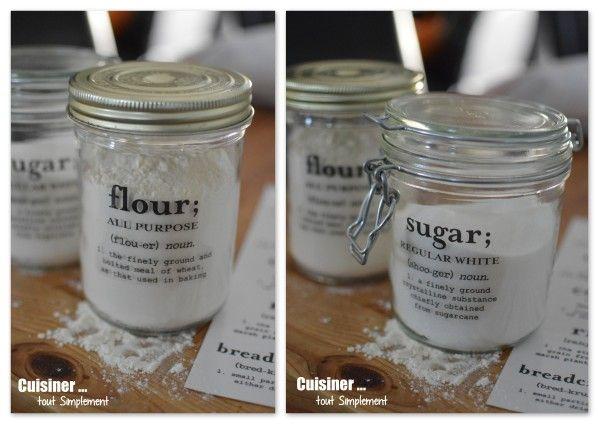 Comment customiser vos Bocaux ... - Cuisiner... tout Simplement, Le Blog de cuisine de Nathalie