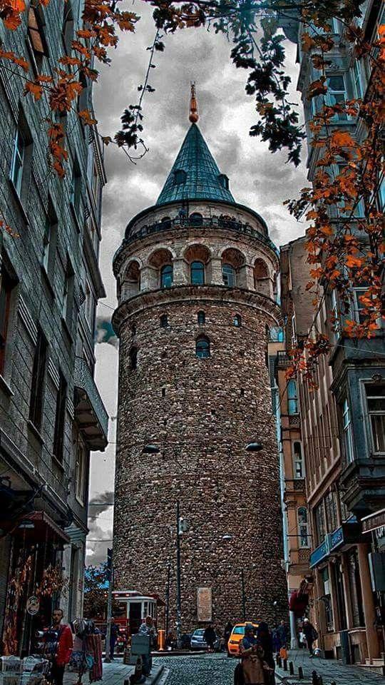 Galata kulesi / İstanbul Turkey