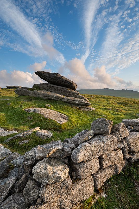 """On Belstone Ridge"" photography by Adam Burton. Dartmoor National Park | Devon | #England #Travel"