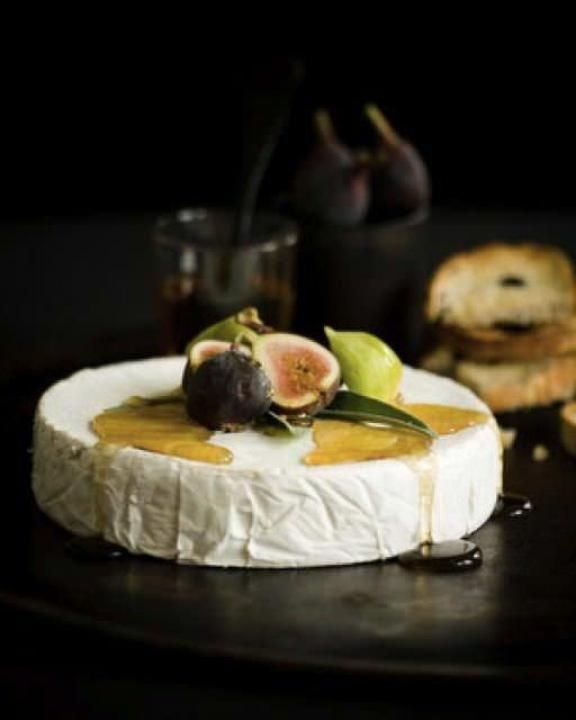 Cheese or cheesecake table decor- figs and honey drizzle Tender Is The Night / Wedding Style Inspiration / LANE