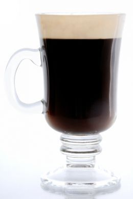 Irish coffee -  10 Hot Alcoholic Drink Recipes to help keep you warm in the winter!