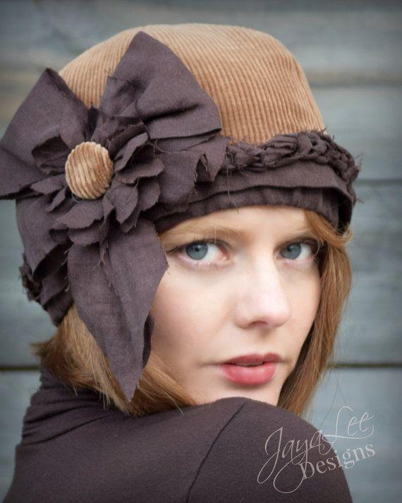 Rustic Corduroy Hat by Jaya Lee #beanie