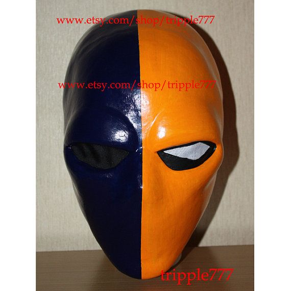 Deathstroke Mask, Deathstroke Costume, Deathstroke Cosplay, Halloween Costume, Halloween Cosplay, Halloween Mask, Deathstroke Prop LA16