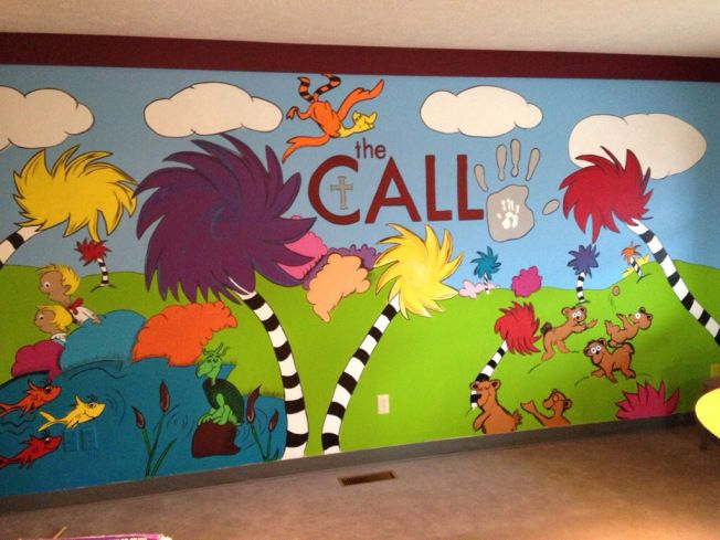 25 best images about dr seuss on pinterest for Dr seuss wall mural
