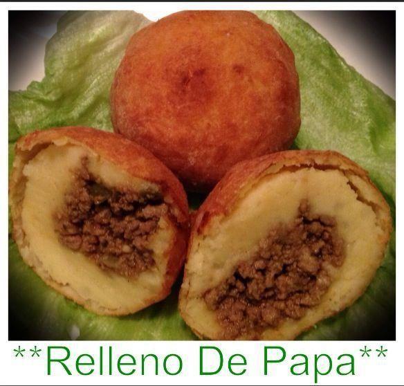 Potatoe balls from Puerto Rico. My favorite food in Puerto Rico www.combatebeach.com