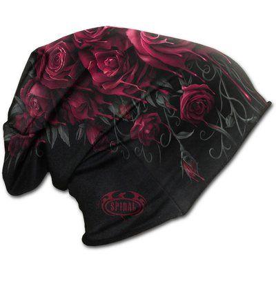 Beanie čiapka Krvavé ruže | Dedoles