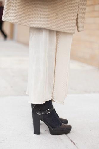 Liz Doupnik's ankle-strap pumps