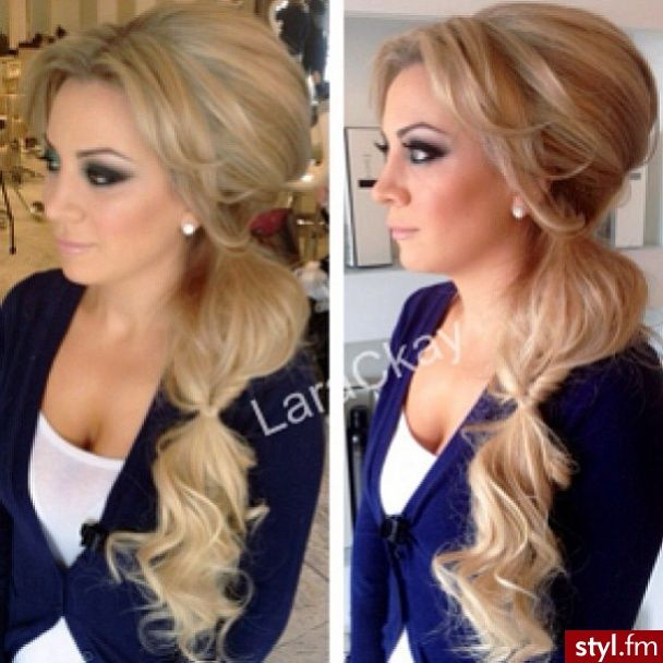 Love Her Pony Tail ♛ н я ѕтуℓєѕ ℓ є ♛ Pinterest Prom Updo Formal Hairstyles And Updos