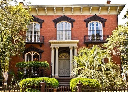 The haunted Mercer House in Savannah, Georgia