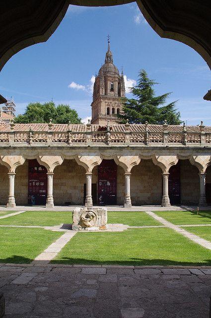 Patio de la Universidad de Salamanca, Escuelas Menores, Spain