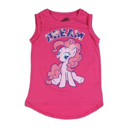 My Little Pony Pinkie Pie Dream girls Muscle Hot Pink Shirt