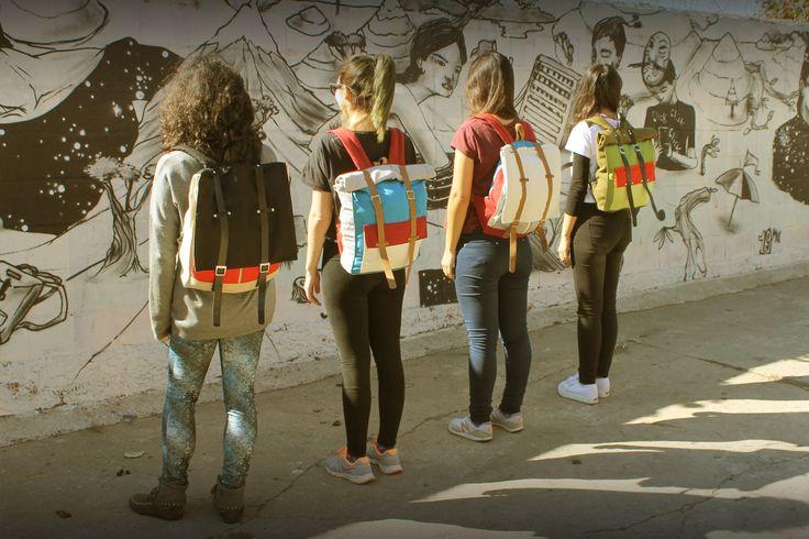 Cotorra - Bolsos y mochilas hechas a mano.