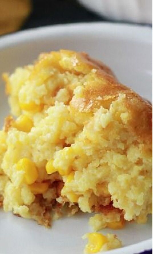 """Sweet Corn Spoonbread & a Great Big """"Thanks!"""" - Southern Bite _ This easy Sweet Corn Spoonbread is a favorite at our house. It's another one of those dump, stir, & pour recipes that we all love, but it tastes like so much more!"""