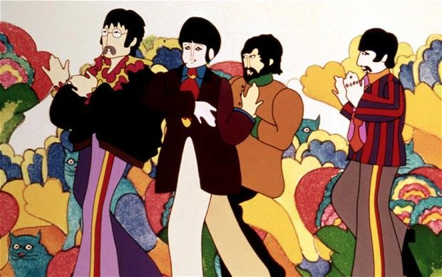 Yellow Submarine has been hand restored frame-by-frame
