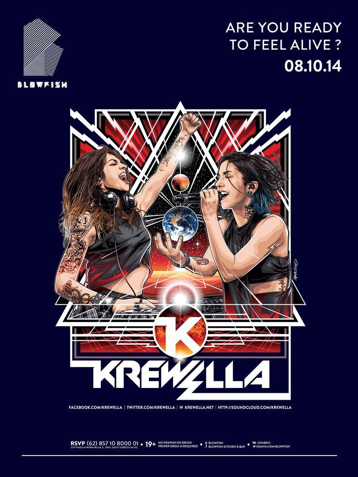 Krewella at Blowfish  08.10.14