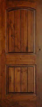 interior wood doors - rustic