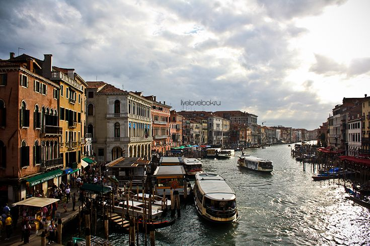 Венеция: мост Реальто, Гранд-канал