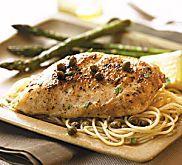 Chicken Piccata with Capers Recipe | MyRecipes.com