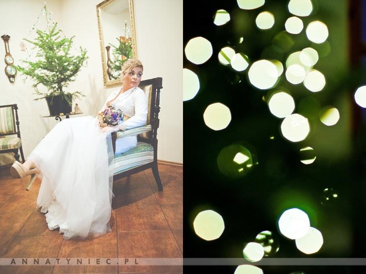 Ślub w zimie | https://www.facebook.com/AnnaTyniecFotografie | fotografia ślubna Wrocław | Anna Tyniec