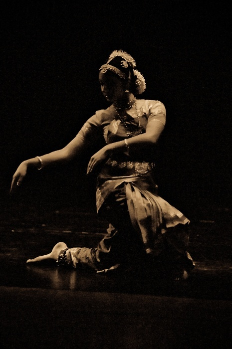 XX Odissi Dancer ~ Sinking into Space