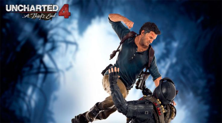 Uncharted 4 Nathan Drake Statue Open for Pre-Orders #Playstation4 #PS4 #Sony #videogames #playstation #gamer #games #gaming