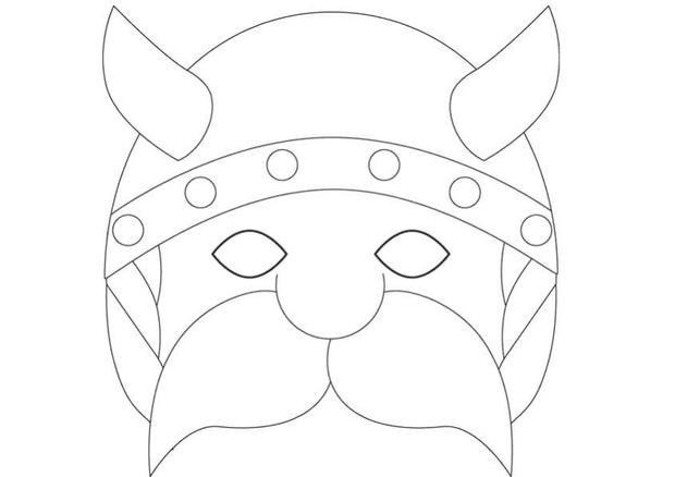 PEOPLE MASKS - Viking mask