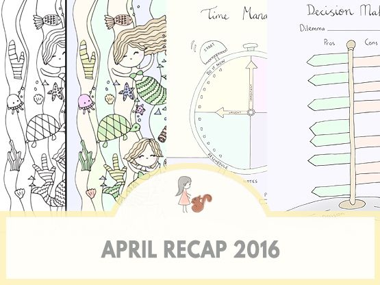 April Recap | www.sweetestchelle.com