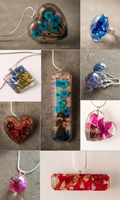 Resin Jewelry - release is this Wednesday! Check out this inspiration gallery on using resin molds.