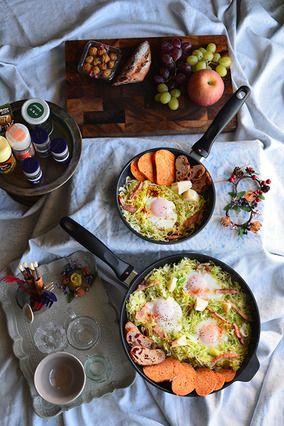目覚めよ身体♪ スパイスキャベツの巣ごもり卵  スパイス大使 豊菜JIKAN スイスダイヤモンド|レシピブログ