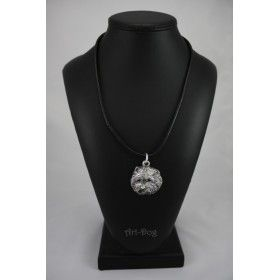 Necklace covered thin layer of silver (1)