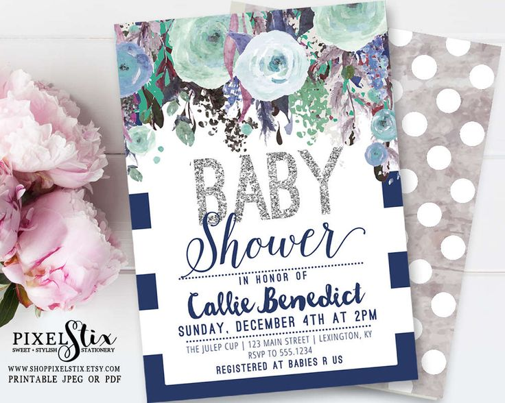 13 best pixelstix baby shower invitations images on pinterest, Baby shower invitations