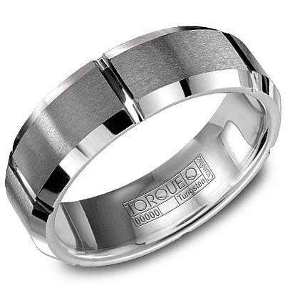 Mens Tungsten Carbide Designer Ring