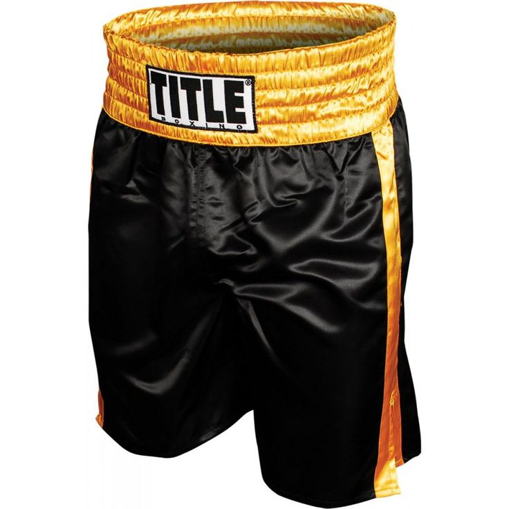 TITLE BOXING PROFESSIONAL BOXING TRUNKS