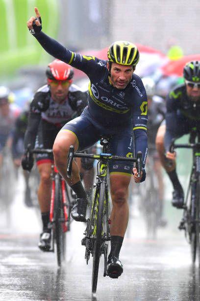 71st Tour de Romandie 2017 / Stage 1 Arrival / Michael ALBASINI / Celebration / Aigle Champery Bulle 782m /