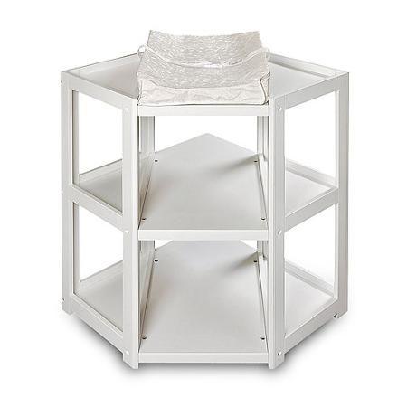 Badger Basket Diaper Corner Changing Table, White - Walmart.com