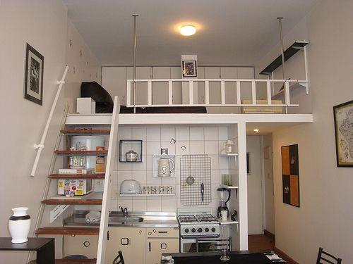 Ideal si tenés el techo alto y poco espacio en piso