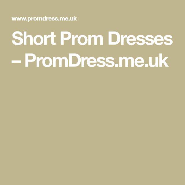 Short Prom Dresses – PromDress.me.uk