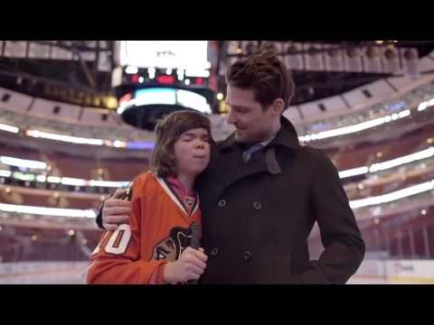 Christina was born with many challenges, one of which is she is blind. Her goal was to experience a Blackhawks game at the UC.