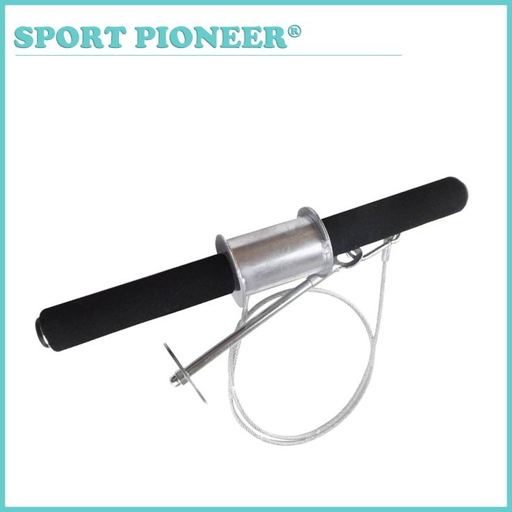 Fitness Equipments Arm and Forearm Training Bar Weight Lifting Wrist Training Bar