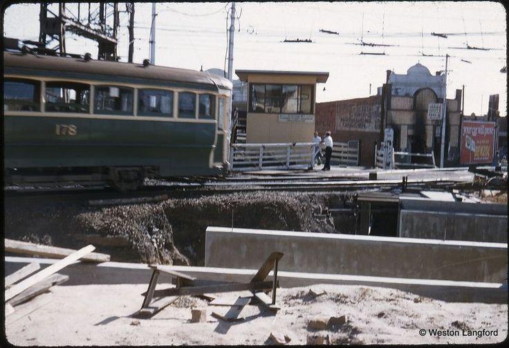 Elsternwick - Tram T 178 Temporary Tramway Square