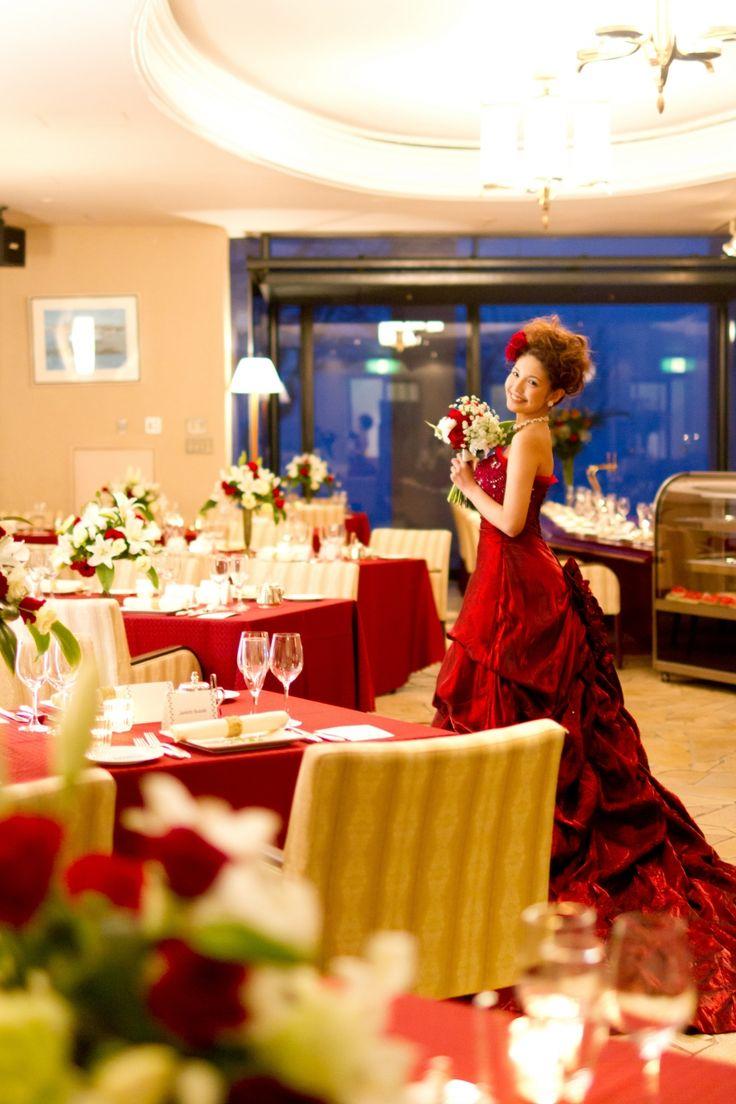 神前式のあとはお色直しでカラードレスが着たい♡ 箱根で行う披露宴のアイデア☆
