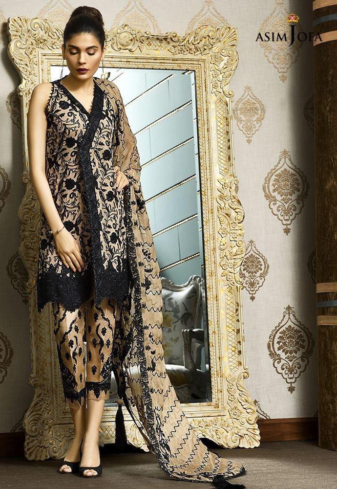 7ec4a7b226 Asim Jofa Mysorie Luxury Collection Winter Dresses 2018 | Dress 4 ...