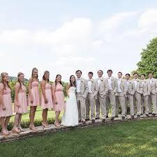 khaki and pink wedding unique wedding ideas